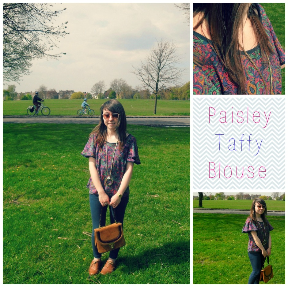 Colette Taffy Blouse