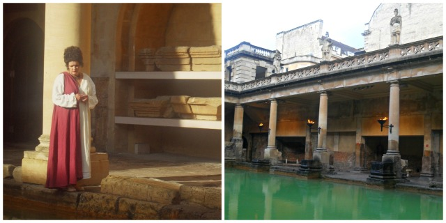 Roman Baths Summer Evening