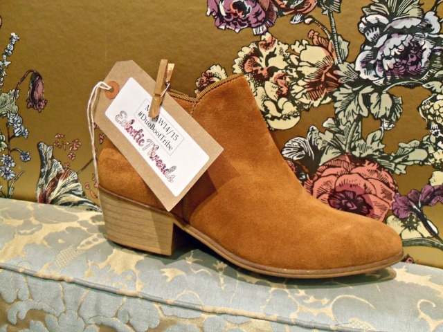 Duo Boots Mandel Ankle Boots