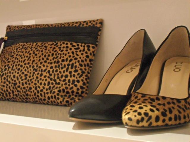 Duo Boots Bath Leopard Print