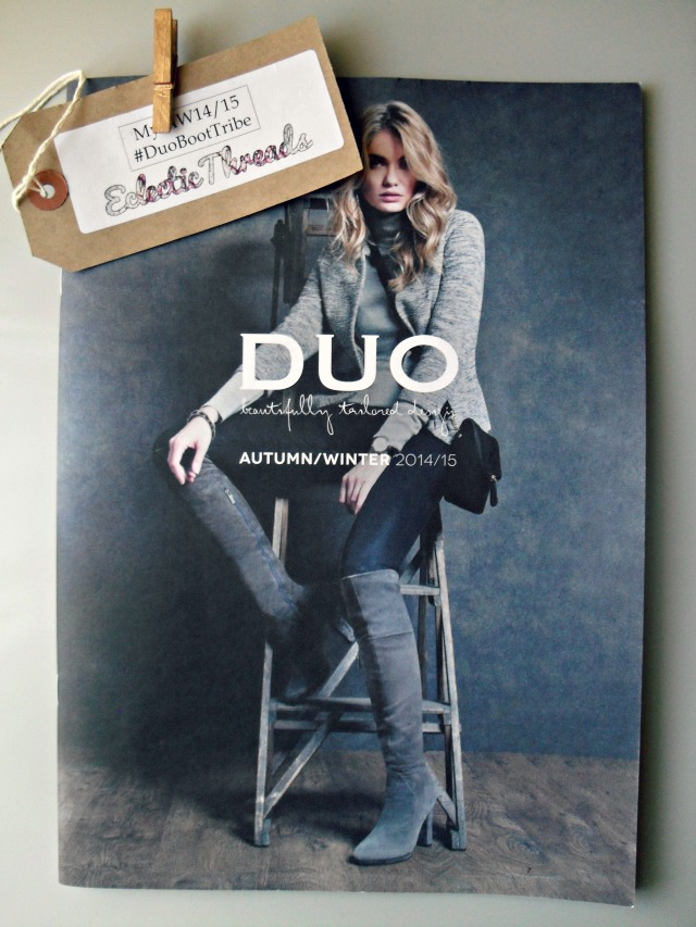 Duo Boots Autumn Winter 2014