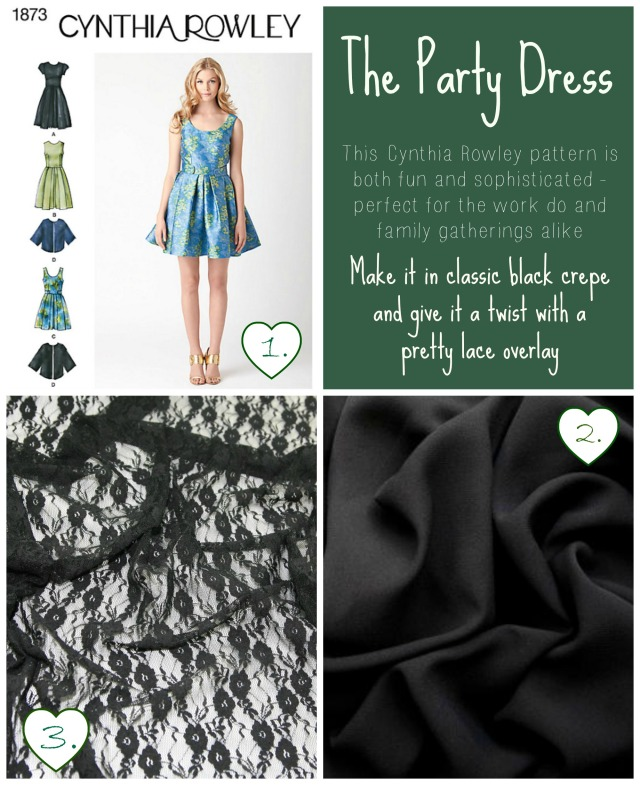 Sewing a Christmas Party Dress