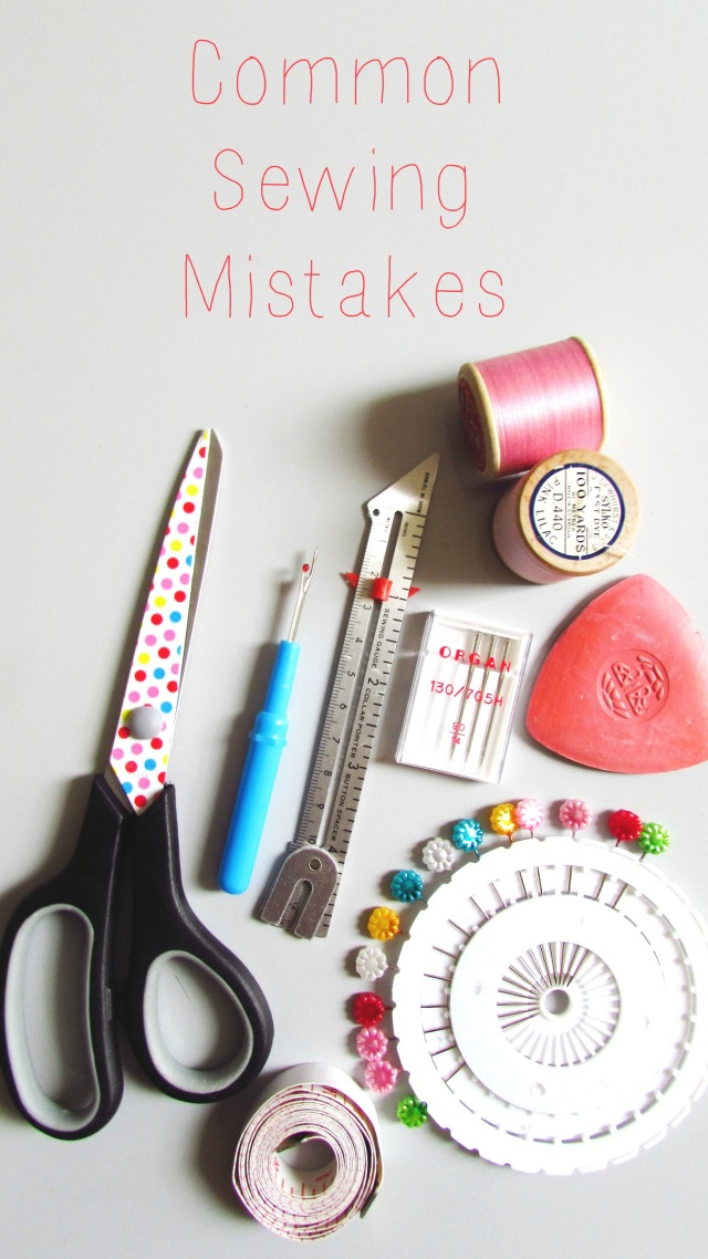 Common Sewing Mistakes