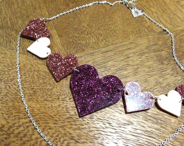 Black Heart Creatives Heart Necklace