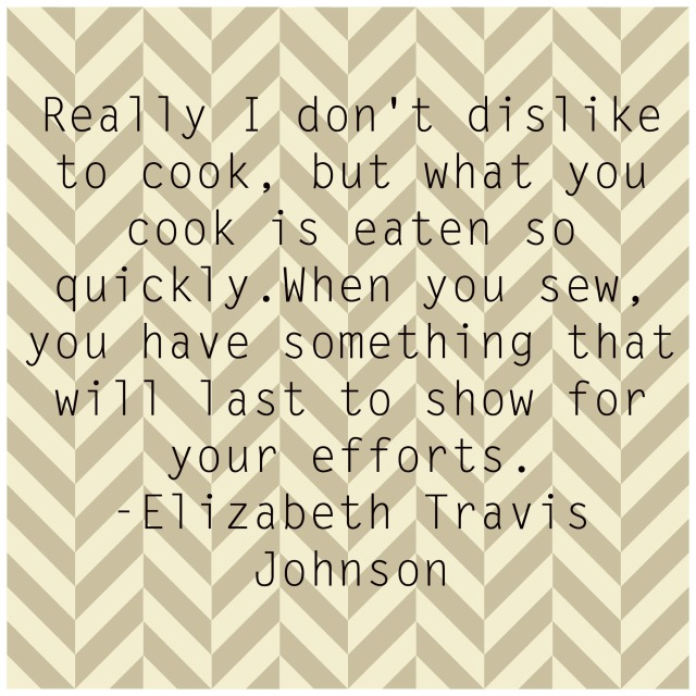 Elizabeth Travis Johnson Quote