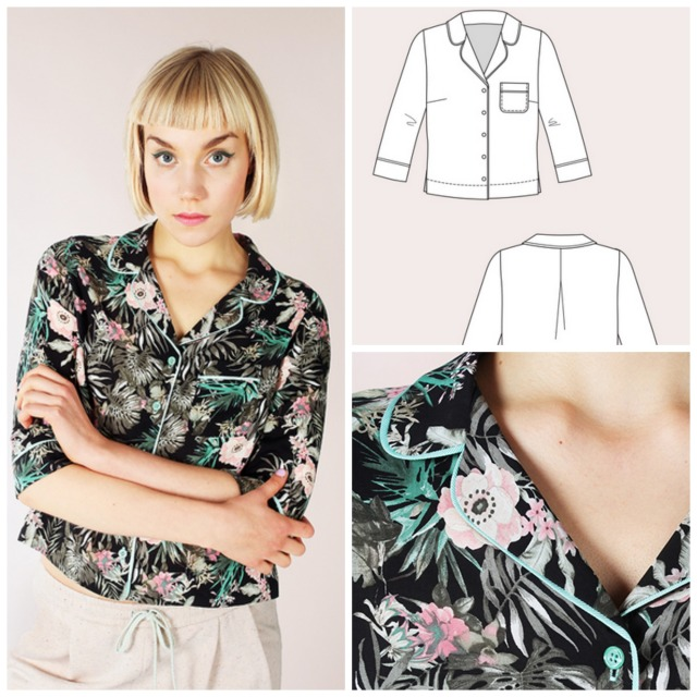 Keana Piped Blouse