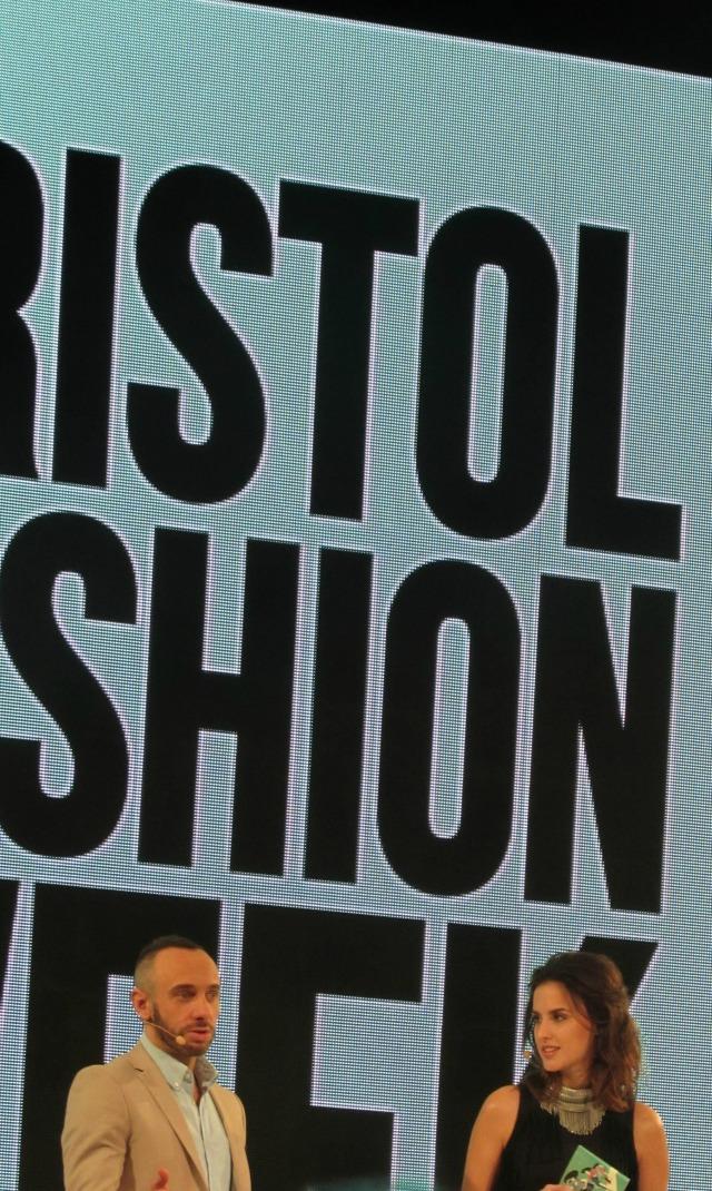 Mark Heyes and Lucy Watson at Bristol Fashion Week