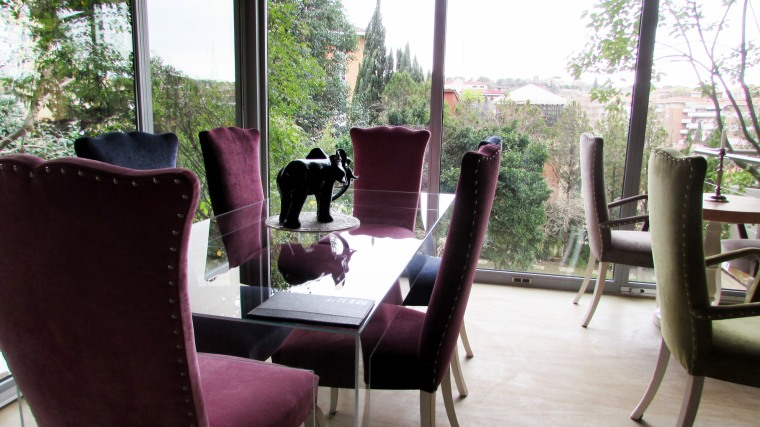 Relais Clivo Vaticano breakfast room